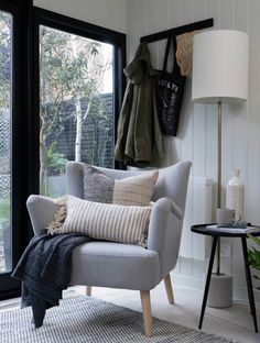 Chair Bench, Wingback Chair, Cox And Cox, Spring Garden, Cosy, Accent Chairs, Lounge, Luxury, Interior