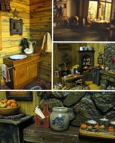 There is a surprisingly robust industry that caters to dollhouse decorators; anything from a small bowl of fruit to beautifully designed toilets can be purchased at hobby stores, or online. The most hardcore dollhouse hobbyists make a majority of the props and foodstuffs found in their tiny homes, however. The intense detail is stunning, as many of the above photos are only revealed to be scaled down creations under the intense scrutiny.