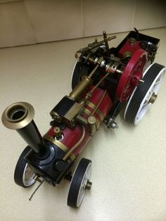 Vintage Tony Pearce Markie 3 4 Scale Traction Engine Steam Engine Live Steam   eBay