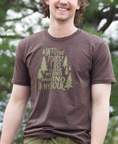 NEW! Into the Forest Men's Recycled T-Shirt