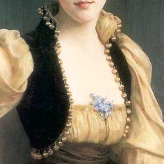 #williamadolphebouguereau #bouguereau #ladymaxwell #1890 #bolero #trim #bolerojacket #notions #romanticism #indumentaria #artcrop #artdetail #artfashion #artgarments by artgarments