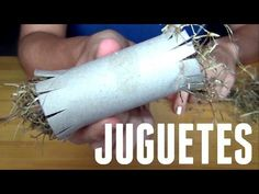 Juguetes caseros para conejos - DIY - YouTube Hamsters, Bunny Toys, Mocca, Projects To Try, Ideas Para, Crafts, Diy, Patio, Videos