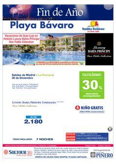Playa Bávaro -Fin de Año- 30% Luxury Bahía Príncipe Esmeralda (vuelo directo a La Romana) salida 30 Diciembre desde Madrid - http://zocotours.com/playa-bavaro-fin-de-ano-30-luxury-bahia-principe-esmeralda-vuelo-directo-a-la-romana-salida-30-diciembre-desde-madrid/