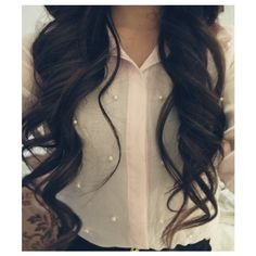 long curly hair | Tumblr ❤ liked on Polyvore