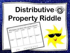 Distributive property homework help