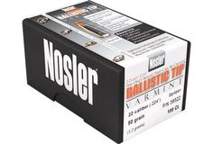 Nosler® Ballistic Tip® Varmint bullets thrive on ultra-high velocity loads yet will go the distance with spectacular results all the way down to the lowest practical velocity levels. This is made possible by the proprietary manufacturing process that allows for several key benefits for varmint shooters to take advantage of.