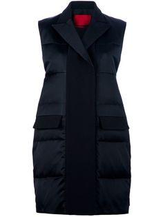 MONCLER GAMME ROUGE Sleeveless Padded Coat