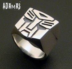 Sterling Silver Transformers Ring by AdamasXs on Etsy, $58.00 - perfect for @Timothy Aulph