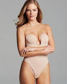 010dad7215c11 Fashion Forms U Plunge Backless Strapless Bodysuit Women - Lingerie
