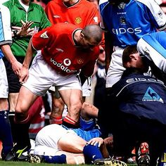Roy Keane: Absolute beast taking no prisoners! HARD AS NAILS