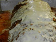 Italian meatloaf for a chef