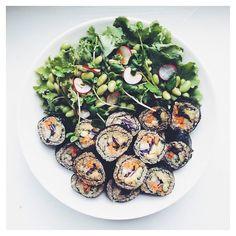 Quinoa And Amaranth Sushi on @the_feedfeed…