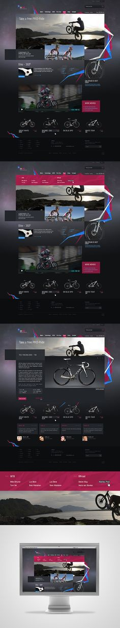 web / *SKbike by East2GO , via Behance