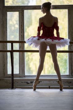 0babed0d6d09 Elegant young ballerina standing near a large window in a dance by Andrey  Bezuglov on 500px