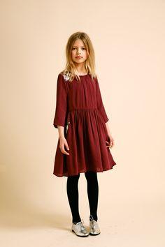 @ilovegorgeous Greenland Dress - Aubergine #AW14