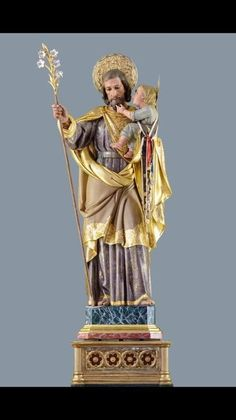 husband name joseph, we have feast of st. Joseph he played in the band. St Joseph Catholic, Amazing Inspirational Quotes, Saint Joseph, Religious Images, Guardian Angels, Blessed Mother, Sacred Heart, Christian Art, Statues