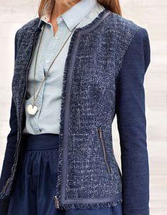 348 mejores imágenes de Chaquetas jackets blazers  4e3b1d8dd351