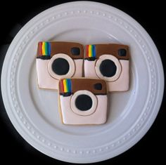 Instagram Decorated Cookies by peapodscookies