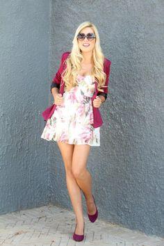 Raspberry blazer