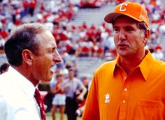 Clemson beat UGA by 3 in '86 - Vince Dooley and Danny Ford.
