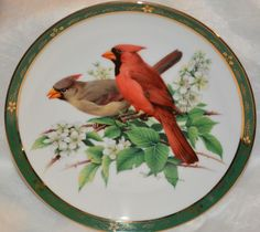 Danbury Mint Songbirds of Roger Tory Peterson: Cardinals