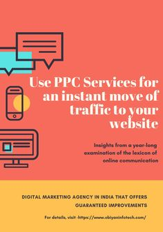 In case you want instant results with a great surge in the traffic to your website, PPC i.e., Pay Per Click services may do the wonder for you. At Obiyan Infotech, we can help you achieve the same. Besides, we can help you purchase the required advertisements at various search engines, including the most prominent one i.e., Google.  Apart from this, we help our clients with the apt keywords so that while searching for the right content, the ads get within the reach of the traffic