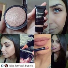 flormarfarmasi ✔5AZN-Farmasi Soft Touch Mono (Göz teni).... ✔7,50-AZN Stay Matte / Foundation (Yüksek qapatıcılığa malik mat tonalni).... ✔4AZN-Farmasi Dodaq qelemi.... #baku #aztagram #nude #flormarbaku #farmasibaku #viplineazerbaijan #makeup  #lips #eyeshadow #lipliner #mattelips #foundation #staymattefoundation