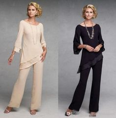Mother Of The Bride Pant Suits Dresses With Long Sleeves Chiffon Groom Champagne Navy Blue Gowns Pants Suits For Mother Bride Petite Mother Of The Bride Dress Plus Sizes Mother Of The Bride Dresses From Rosemarybridaldress, $78.54| Dhgate.Com