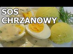 SOS CHRZANOWY do jaj lub białej kiełbasy - YouTube Impreza, Cooking Recipes, Favorite Recipes, Breakfast, Polish Food Recipes, Morning Coffee, Recipes, Morning Breakfast