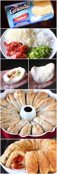 #Pizza Monkey Bread
