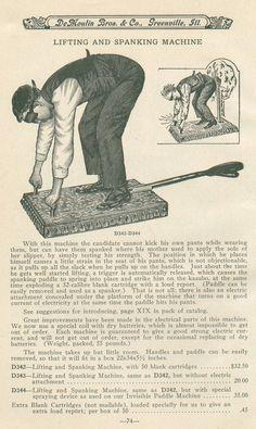 lifting and spanking machine