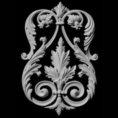 Decorative mouldings and architectural ornamentation by Pearlworks. Resin casted trims and flexible molding for interior and exterior design and construction, fine architectural wood carvings. Better than hardwood trim molding because its flexible Exterior Trim, Exterior Design, Interior And Exterior, Flexible Molding, Wall Panel Design, House Trim, French Walls, Decorative Mouldings, Wall Molding