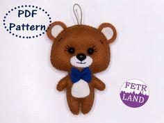 Felt Animal Patterns, Stuffed Animal Patterns, Pdf Patterns, Primitive Sheep, New Years Tree, Expecting Mom Gifts, Needle Felted Animals, Felt Animals, Sewing Toys