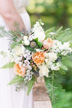 pastel bouquet | Lieb Photographic | Glamour & Grace