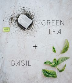 4 Easy Ways To Help Your Face Overnight, Part II Green tea and basil face mask!