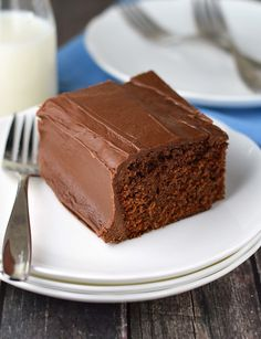 A recipe for the popular Coca-Cola cake. It can be served right out of the pan making it easy to bring along.