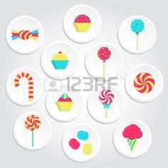 31205494-Ícones-doces-circular-e-colorida-com-pirulitos,-sorvetes,-chiclete-e-vários-doces.-Ícones-colorid.jpg (450×450)