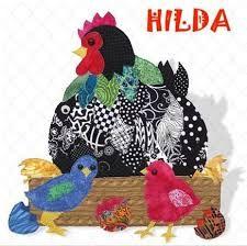 Diseño de gallina