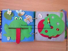 Купить Развивающая книжка для Макара - развивающая игрушка, развивающая книжка, развитие мелкой моторики, развивашка