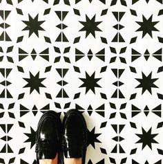 Home | Nicolette Tabram Stencils Stencil Fabric, Stencil Diy, Stencil Painting, Stencils, Painted Floorboards, Painted Floors, Tiled Floors, Patio Flooring, Laminate Flooring