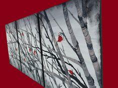 Klik op Zoom om volledige weergave te bekijken  Titel HOPE  Grootte 22 x 28 x 3 doeken (28 inch x 66 inch) totaal  Hoge kwaliteit, kunstenaar rang gebruikte materialen  • Doeken zijn klaar om op te hangen (zoals weergegeven in afbeelding) . . Randen zijn zwart geschilderd. Geen behoefte om frame, gewoon hangen. Zijden zijn nietje gratis  • Ondertekend door de kunstenaar op de voorkant  • Beschermende vernis met glans wordt toegepast om te helpen de kunst beschermen tegen UV-licht, stof en…