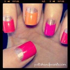 how to half moon manicure