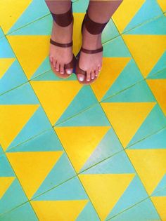 Beachwood Cafe Patterned Tile, Re-imagined | The Jungalow