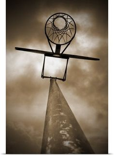 art basketball hoop