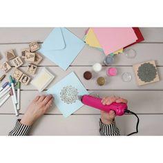 Docrafts Papermania Pink Heat Tool | Hobbycraft