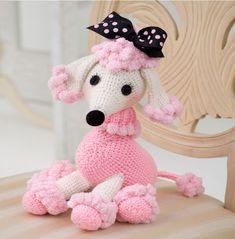Pomp-a-Poodle Free Crochet Pattern