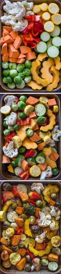 Autumn Roasted Veggies   Gimme Delicious