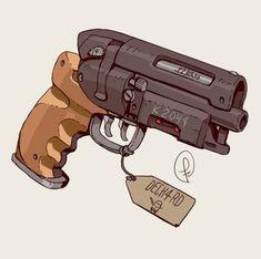 The Deck4rd gun in Enter the Gungeon. Picture made by Fernand0FC on Deviant Art  #EntertheGungeon