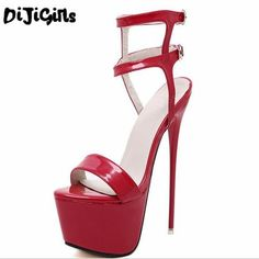 Women High Heels Sandals Sexy Stripper Shoes Party Pumps Gladiator Platform Sandals