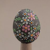 Decorated eggs imported from the Czech Republic. Egg Tree, Egg Decorating, Traditional Design, Czech Republic, Christmas Bulbs, Eggs, Easter, Holiday Decor, Flowers